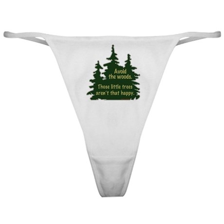 Happy Trees Classic Thong