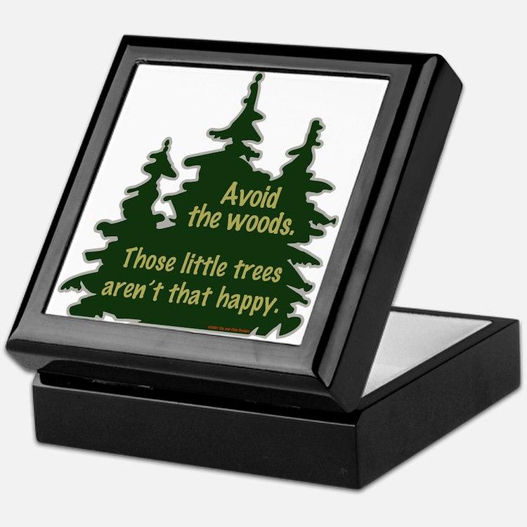 Happy Trees Keepsake Box