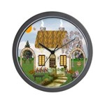Sunshine Cottage Wall Clock