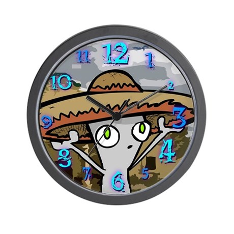 Taco Time Wall Clock