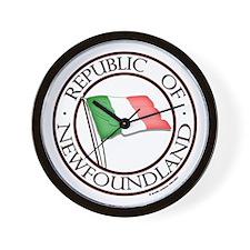 1983 Republic of Newfoundland Wall Clock