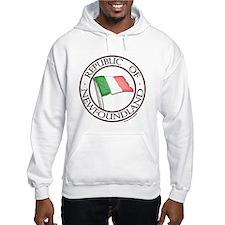 1983 Republic of Newfoundland Hoodie Sweatshirt
