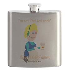 Cute Crazy Flask