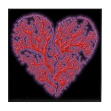 Broken Heart Valentine Tile Coaster