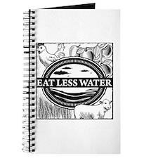 Eat Less Water Journal