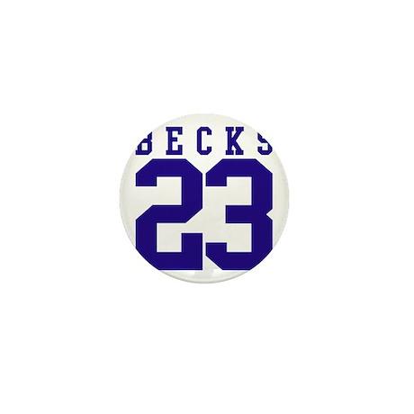BECKS 23 Mini Button (10 pack)