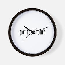 got freedom? Wall Clock