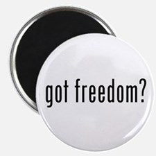 "got freedom? 2.25"" Magnet (10 pack)"