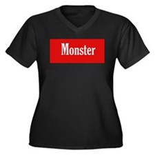 Monster red Plus Size T-Shirt