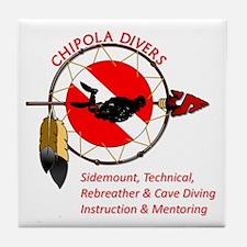 Chipola Divers Tile Coaster