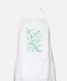 Ancient Green Waters BBQ Apron