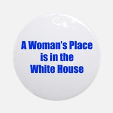 A Woman s Place is in the White House-Imp blue 400