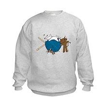 Cat Knit Sweatshirt