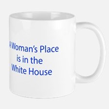 A Woman s Place is in the White House-LCD blue 460