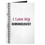 I Love My DEMONOLOGIST Journal