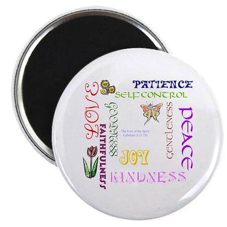 """Fruit of the Spirit 2.25"""" Magnet (100 pack)"""