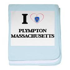 I love Plympton Massachusetts baby blanket