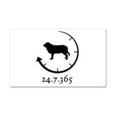 Spanish Mastiff Car Magnet 20 x 12