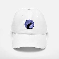 Cat & Moon Baseball Baseball Cap