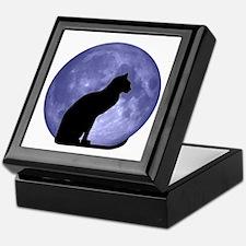 Cat & Moon Keepsake Box
