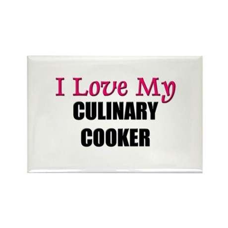 I Love My CULINARY COOKER Rectangle Magnet (10 pac