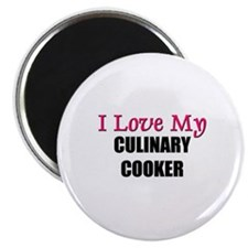 """I Love My CULINARY COOKER 2.25"""" Magnet (10 pack)"""