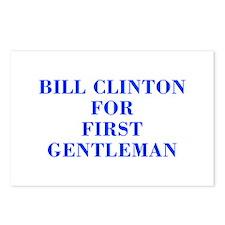 Bill Clinton for First Gentleman-Bod blue 421 Post