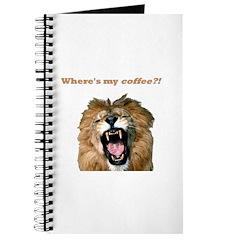 Where's my coffee Journal
