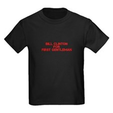 Bill Clinton for First Gentleman-Cle red 500 T-Shi