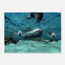Submarine 5'x7'Area Rug