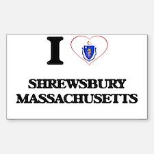 I love Shrewsbury Massachusetts Decal