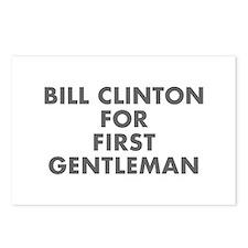 Bill Clinton for First Gentleman-Fut gray 400 Post