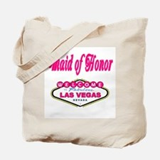 Bubble Gum Pink Maid of Honor Tote Bag