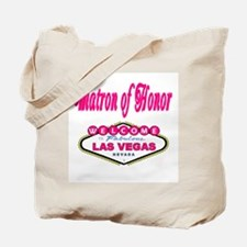 Bubble Gum Pink Matron of Honor Tote Bag