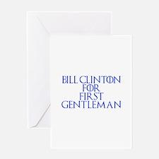 Bill Clinton for First Gentleman-Gam blue 400 Gree