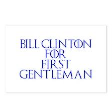 Bill Clinton for First Gentleman-Gam blue 400 Post