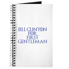 Bill Clinton for First Gentleman-Gam blue 400 Jour