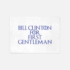 Bill Clinton for First Gentleman-Gam blue 400 5'x7