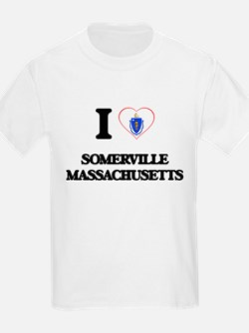 I love Somerville Massachusetts T-Shirt