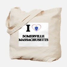 I love Somerville Massachusetts Tote Bag