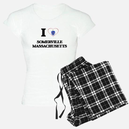 I love Somerville Massachus Pajamas