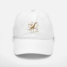 Giraffe Baseball Baseball Cap