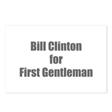 Bill Clinton for First Gentleman-Imp gray 400 Post