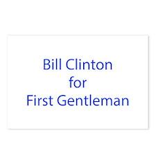 Bill Clinton for First Gentleman-LCD blue 460 Post