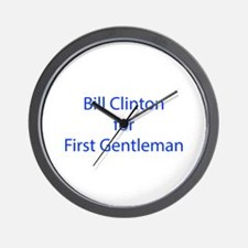 Bill Clinton for First Gentleman-LCD blue 460 Wall
