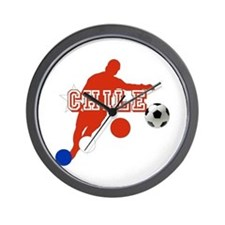 Chile La Roja Futbol Wall Clock