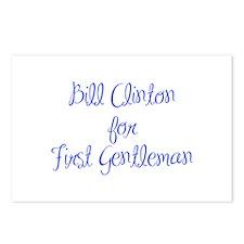 Bill Clinton for First Gentleman-MAS blue 400 Post