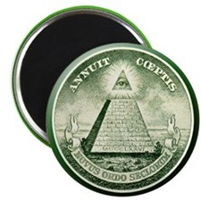 The Great Seal - Pyramid Eye Magnet