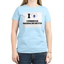I love Uxbridge Massachusetts T-Shirt