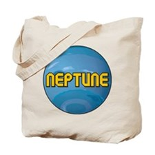 Neptune Planet Tote Bag